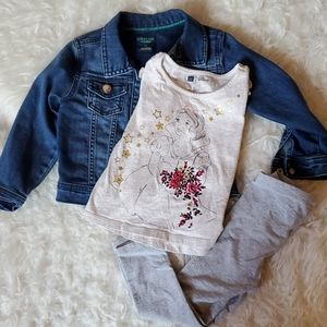 GAP Snow White Outfit 3T